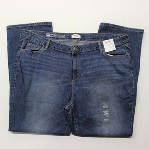 Sonoma Curvy Bootcut Blue Jeans - Med Wash - 24W